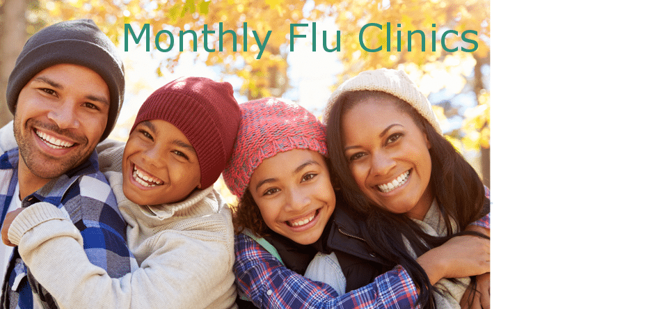 Monthly Flu Clinics
