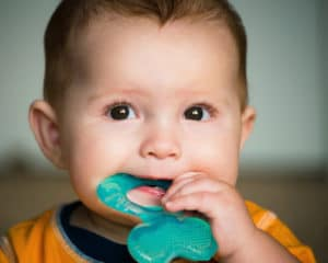 Has Teething Pain Gotten Your Baby Down in the Mouth?